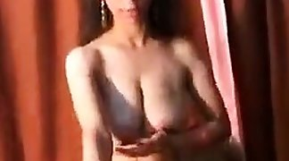 Cute Indian Girl Squirting Milk Out
